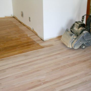 Timber Floor Stripping